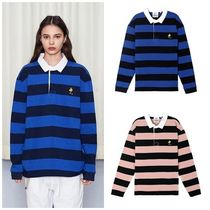 STEREO VINYLSの[SS18 Peanuts] Stripe Rugby Shirts 全2色