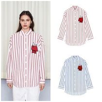 STEREO VINYLSの[SS18 Peanuts] Snoopy House Stripe Shirts