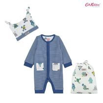 Cath Kidston★ FOOTLESS SLEEPSUIT, HAT AND BAG CERULEAN
