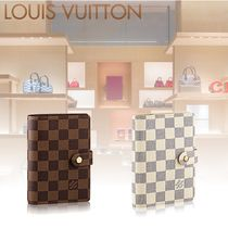 【Louis Vuitton】全2種 ダミエ 手帳 コンパクト アジェンダ PM