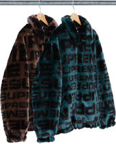 Week1新作!SUPREME18SS★FAUX FUR REPEATER BOMBER