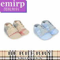 ☆18SS☆BURBERRY★BABY★チェックプレウォーカーシューズ