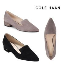 SALE! Cole Haan Arlyss Suede Flat Skimmer