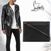 【18SS】Christian Louboutin/Skypouch クラッチバッグ ブラック