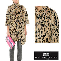 追跡ありで安心☆BALENCIAGA PULLED OPERA FAUX-FUR COAT