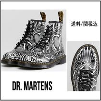【Dr Martens】大人気!Playing Card Printed 8 Eye Boots 1460