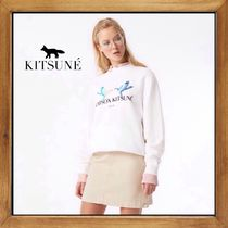 ★★MAISON KITSUNE《 LOVE BIRDS SWEATSHIRT 》送料込み★★