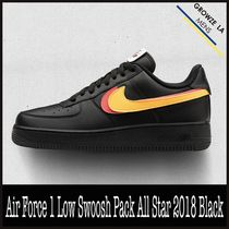 ★【NIKE】追跡発 Air Force 1 Low Swoosh Pack All Star Black