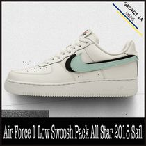 ★【NIKE】追跡発 Air Force 1 Low Swoosh Pack All Star Sail
