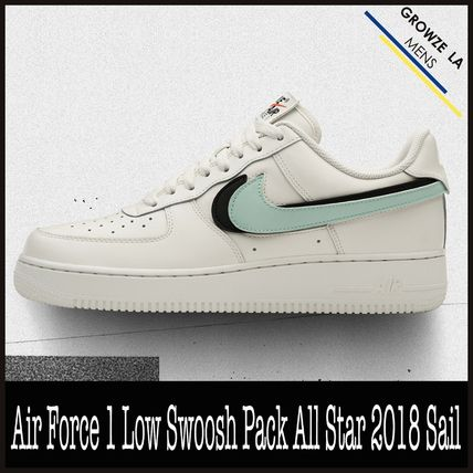 innovative design 03ad0 45031 ★【NIKE】追跡発 Air Force 1 Low Swoosh Pack All Star Sail
