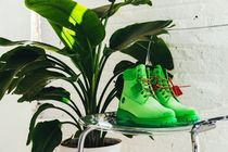 Off-White × Timberland 6 inch Boot Green コラボ渾身の作品