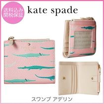 kate spade◆スワンプ◆ワニさん◆アデリン◆ミニ財布◆swamped