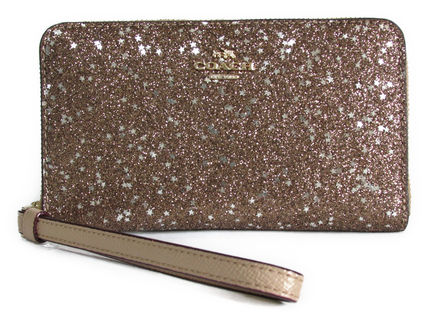 COACH Boxed Star Glitter Phone Wallet F23448