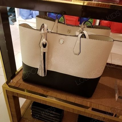 2018SS♪ Tory Burch ★ COLOR BLOCK PERRY TOTE