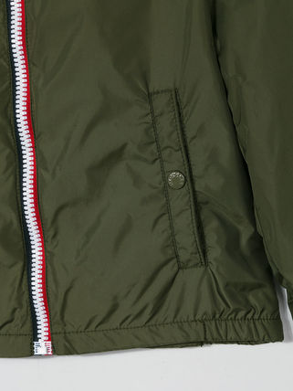 MONCLER キッズアウター 関税・送料込 MONCLER NEW URVILLE フード付 袖ロゴ ジャンパー(5)