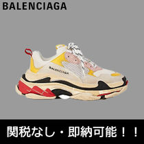 即納国内発送 BALENCIAGA Triple S White Yellow Red 激レア