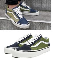 VANS☆OLD SKOOL 36DX(Anaheim Factory) navy olive(22‐28㎝)