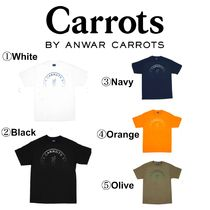 Carrots By Anwar Carrots(キャロッツ) シャツ 【Carrots】☆日本未入荷☆CARROT FADED CIRCLE LOGO T-SHIRT
