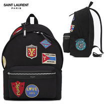 【正規品保証】SAINT LAURENT★18春夏★CITY BACKPACK_BLACK