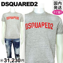 DSQUARED2 Tシャツ T-SHIRTS グレー S74GD0328