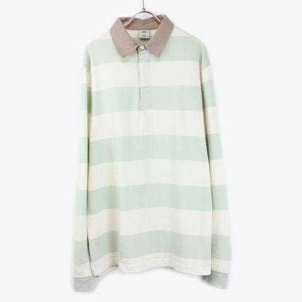 URBAN OUTFITTERSボーダーラガーシャツBORDER RUGBY SHIRT