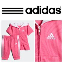 GIRLS TRAINING ANIMESH CAPRI JOGGER SET ゼブラ 上下セット★
