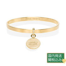 ☆say yes scalloped partners in crime bangle☆ ゴールド系
