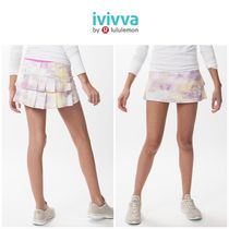 <ivivva by lululemon> Set The Pace Skirt スコート ピンク柄
