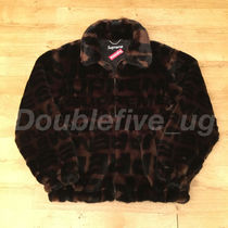 Supreme Faux Fur Repeater Bomber Jacket M 18ss 激レア 正規品