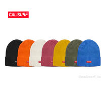 新作★SS18 Supreme Overdyed Ribbed Beanie/選べるカラー