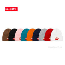 新作★SS18 Supreme Rubber Patch Beanie/選べるカラー