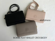 新作SALE TORY BURCH★BOMBE FLAT WALLET CROSSBODY 46177