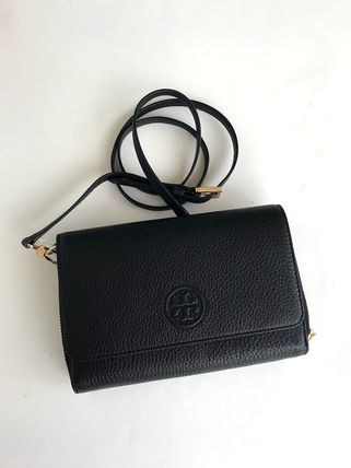 Tory Burch ショルダーバッグ・ポシェット 新作SALE TORY BURCH★BOMBE FLAT WALLET CROSSBODY 46177(3)