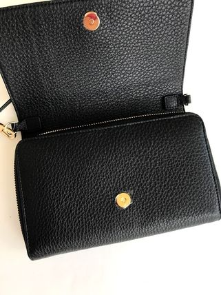 Tory Burch ショルダーバッグ・ポシェット 新作SALE TORY BURCH★BOMBE FLAT WALLET CROSSBODY 46177(4)