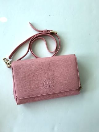 Tory Burch ショルダーバッグ・ポシェット 新作SALE TORY BURCH★BOMBE FLAT WALLET CROSSBODY 46177(12)