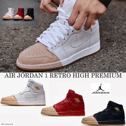 最新☆話題沸騰中☆AIR JORDAN 1 RETRO HIGH PREMIUM☆選べる3色