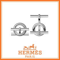 HERMES 国内発 Mini Chaine d'Ancre カフリンクス H103448B 00