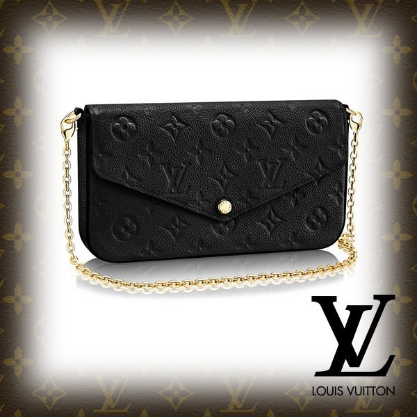 2018SS【LOUIS VUITTON】ポシェット・フェリーチェ ノワール (Louis Vuitton/長財布) 34240557