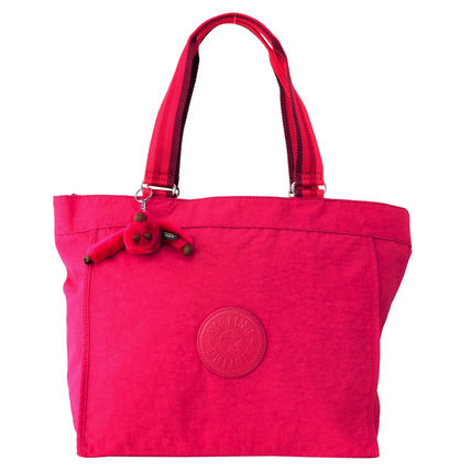 Kipling 2WAY バッグ NEW SHOPPER L K16659 K77 Cherry Pink C