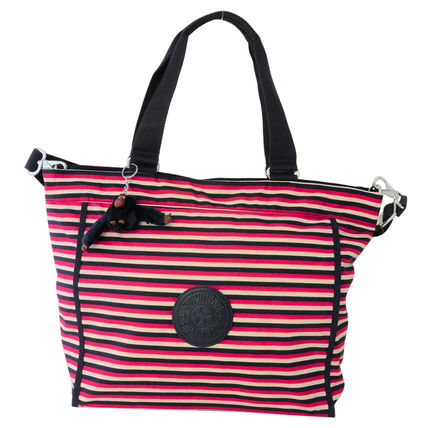 Kipling 2WAY バッグ NEW SHOPPER L K16659 L24 Sugar Stripes