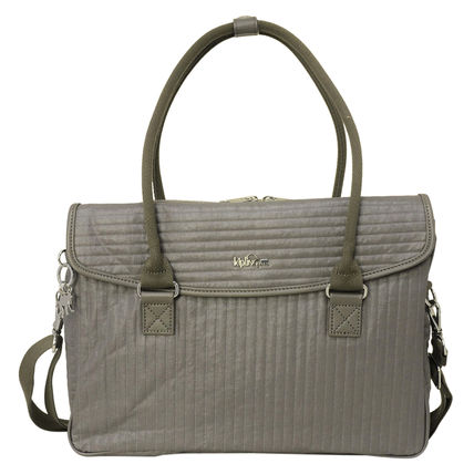 Kipling ハンドバッグ SUPERWORK S K19442 21S Misty Taupe