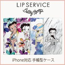 LIP SERVICE Betty Boop iPhone6/6S/7/8対応手帳型ケース