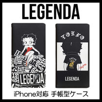 LEGENDA Betty Boop iPhone6/6S/7/8対応手帳型ケース