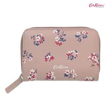 Cath Kidston★LEATHER POCKET PURSE WOODSTOCK DITSY