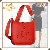 HERMES直営店 Evelyne III 29☆rouge tomate/taurillon