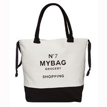 即納Bag-all  NY発 厚手キャンバスWorld Traveler Tote Grocery