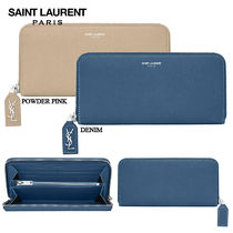 【正規品保証】SAINT LAURENT★18春夏★LARGE ZIP AROUND WALLET