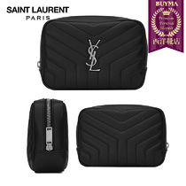 【正規品保証】SAINT LAURENT★18春夏★LOULOU MAKEUP BAG_BLACK