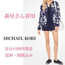 *国内発送* 森星さん着用 MK Floral Embroidered Bomber Jacket