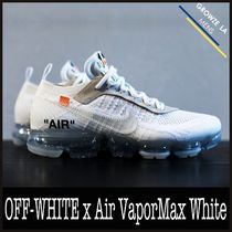 ★【NIKE】追跡発 コラボ Off-White x Air VaporMax White 2018